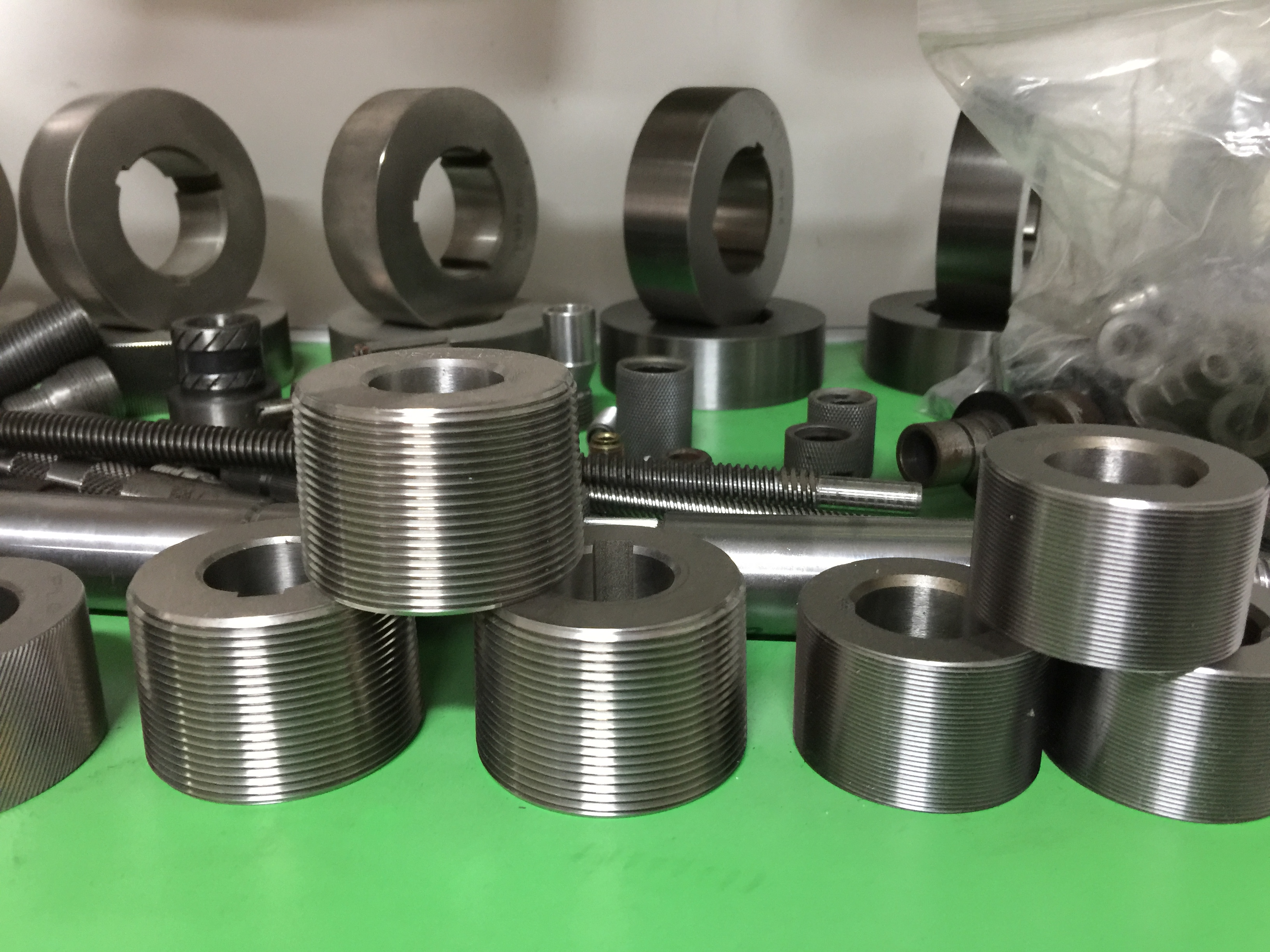 Factory where we produce thread rolling dies-Shenzhen Feda