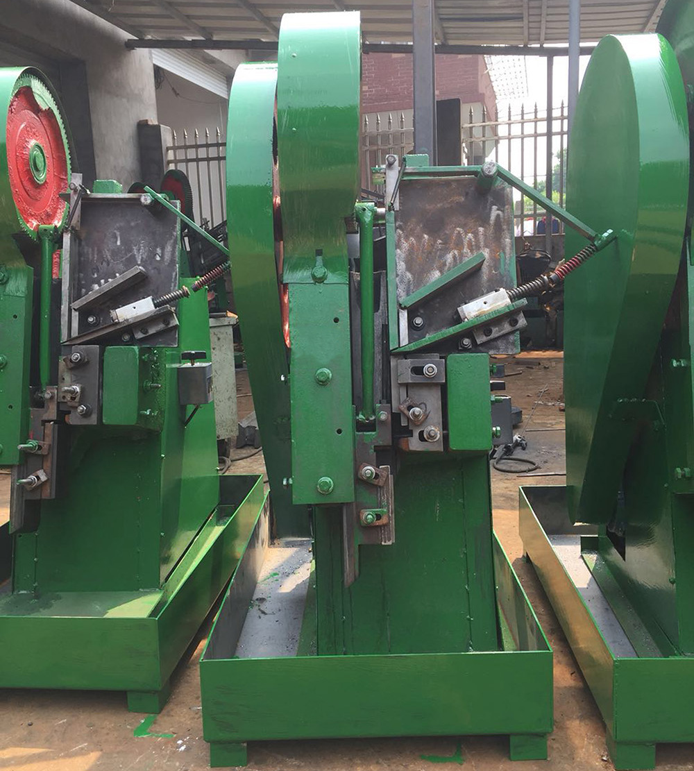 3 sets vertical thread rolling machines waiting for shipping
